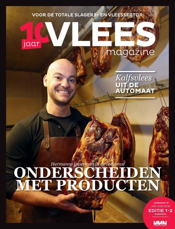 Vleesmagazine nummer 1/2 2018