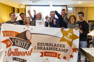 Slagerij Braamskamp wint Grote Grillworsttest 2018