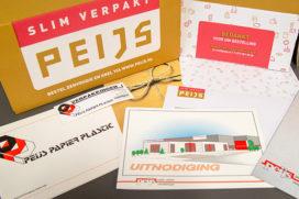Peijs Verpakkingen verandert huisstijl in jubileumjaar